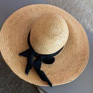 Straw Floppy Summer Hat